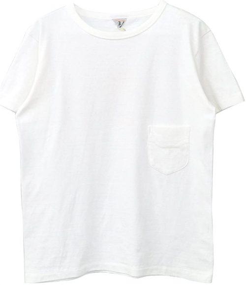 フィルメランジェ(Filmelange) クルーネックポケットTシャツ DIZZY