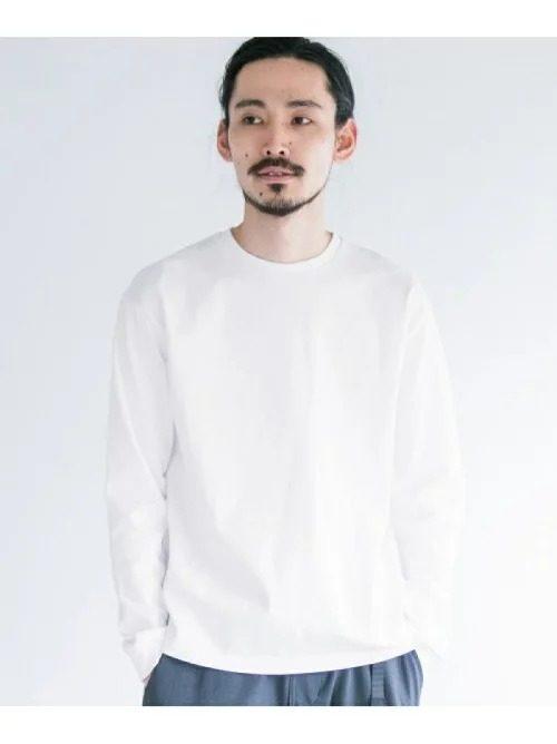 アーバンリサーチ(URBAN RESEARCH) 度詰めバイオ天竺ロングスリーブTシャツ