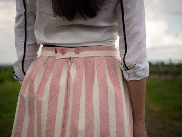 saki jane - cali faye pocket skirt