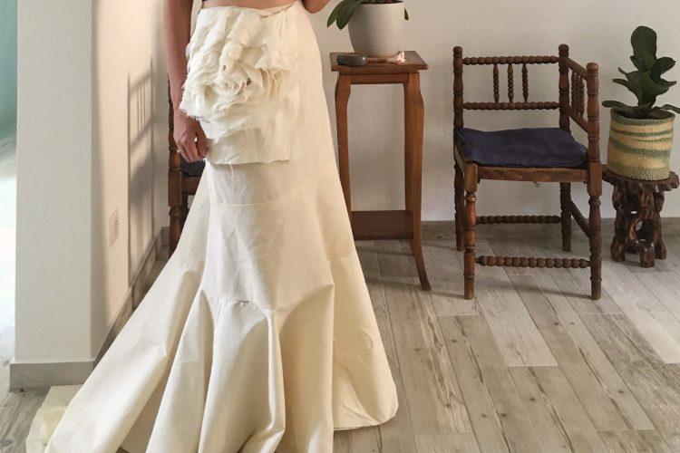 me made wedding dress series - saki jane