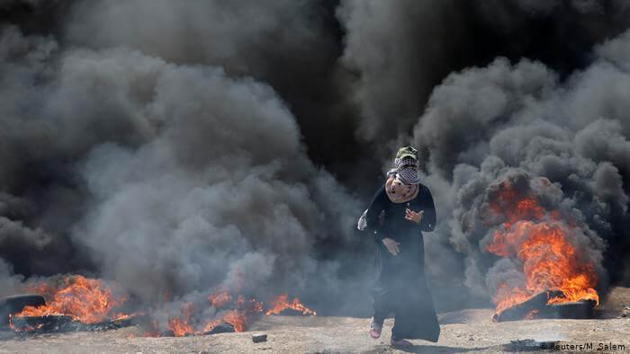 brave palestine women