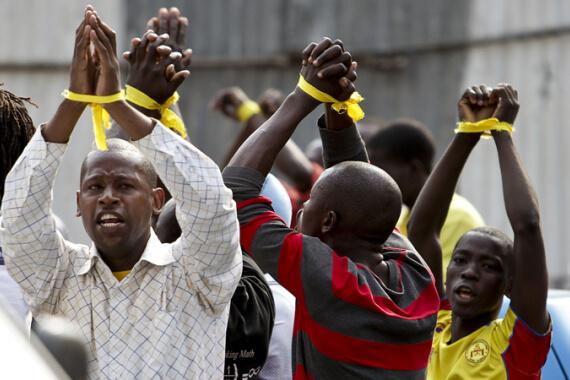Angolan Muslim Protests
