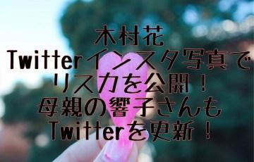 木村花Twitterインスタ写真でリスカ!母親の響子さんも更新!