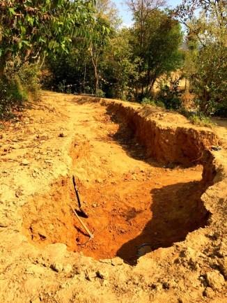 CSEB excavation site