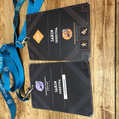 My WCEU 2017 Badge