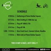 schedule for ktm kora