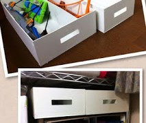 プラレールパーツ整理用の箱