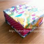 小さい折り紙ケース、ホラグチカヨのwelcome rainで