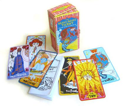The Sakki-Sakki Tarot for the Artist in Each of Us - Sakki-Sakki