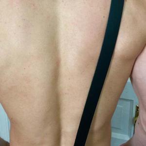 Çapraz Seksi Deri Erkek Kemeri  APFTM30