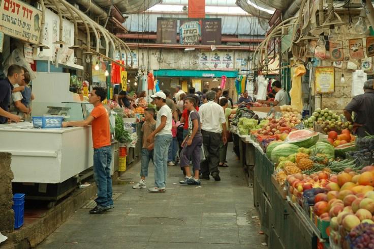 פירות בשוק מחנה יהודה