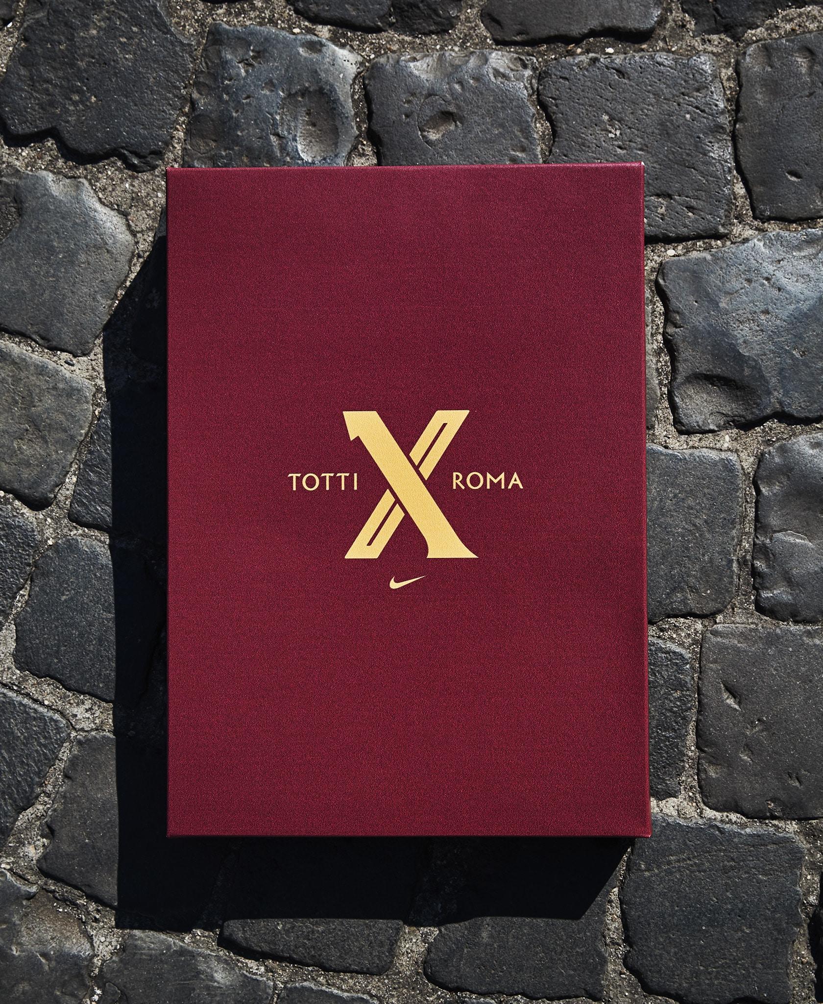 Limited edition Francesco Totti spillertrøje 2