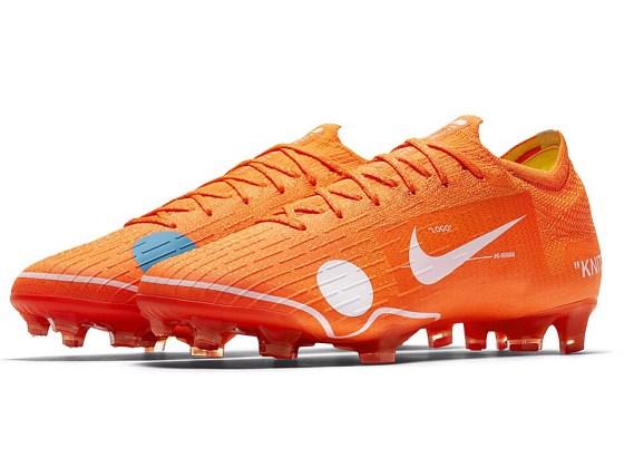 Nike og OFF-WHITE indgår samarbejde om fodboldstøvler 1