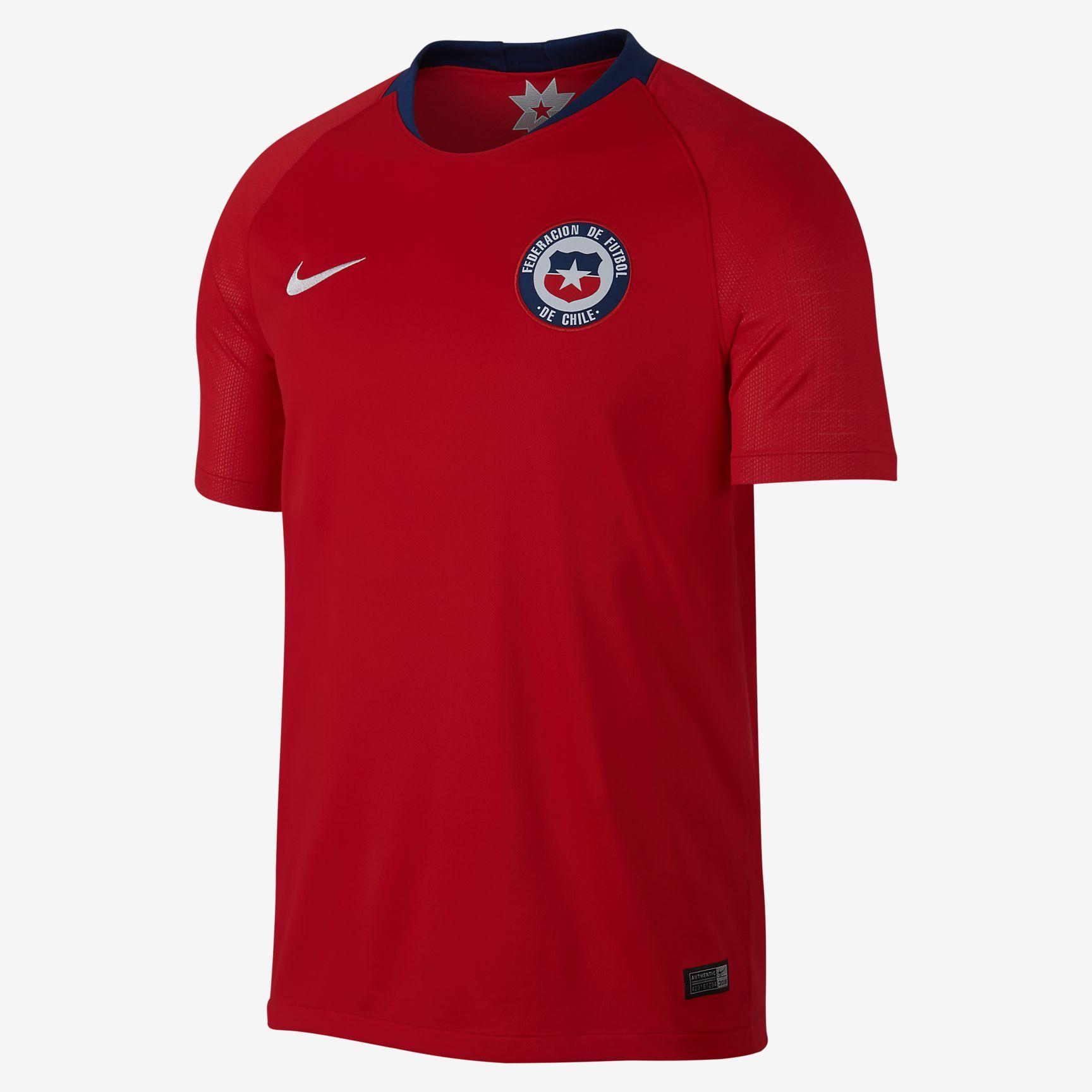 Nike lancerer Chiles nye landsholdstrøjer 2