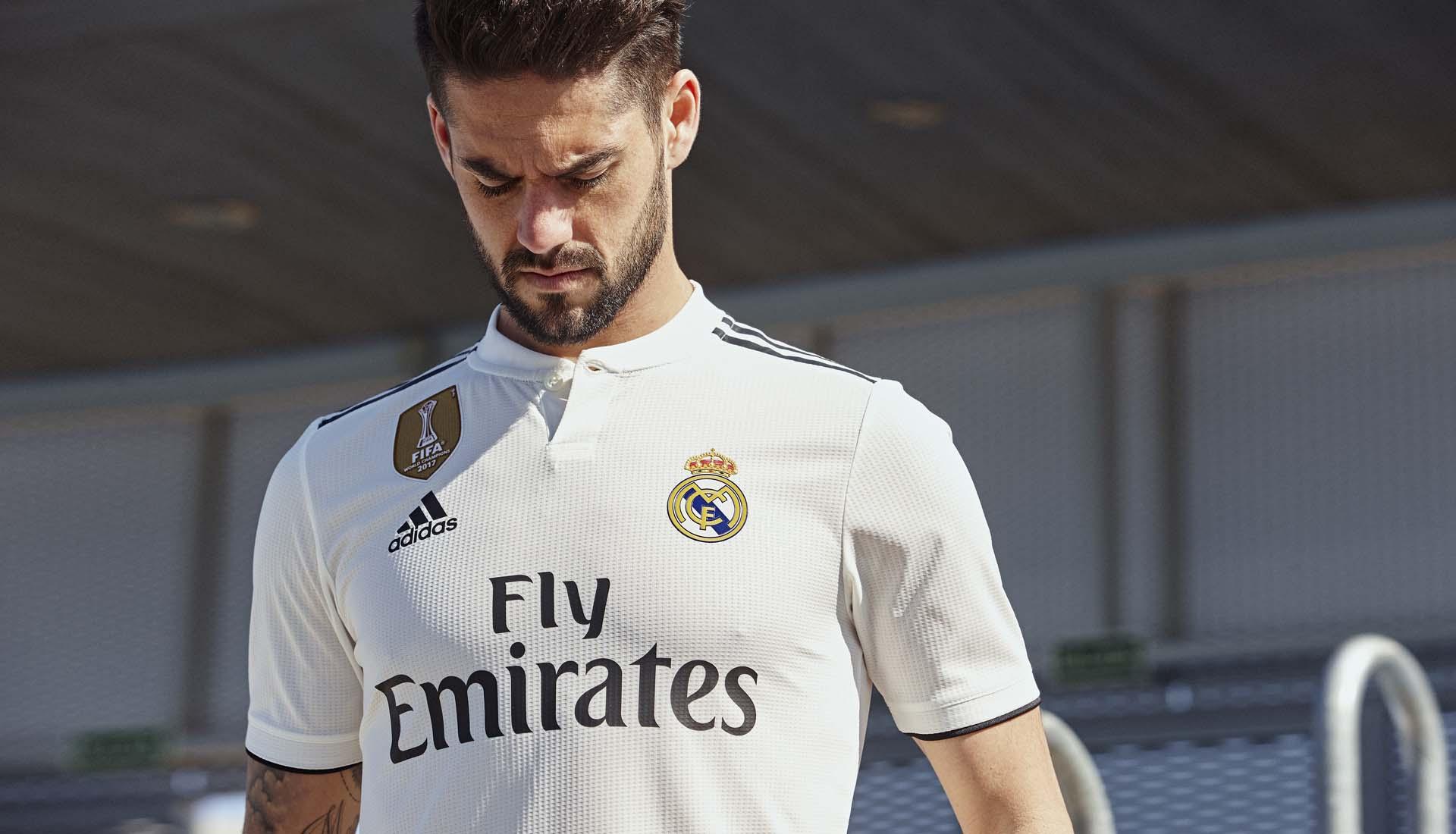 adidas 201819 Real Madrid Hjemmebane og Udebanetrøje