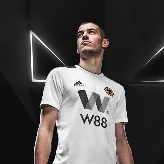adidas Wolverhampton 2018/19 Hjemmebane- og Udebanetrøje 3