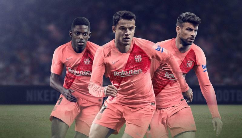 Nike FC Barcelona 2018/19 Tredje Trøje 1