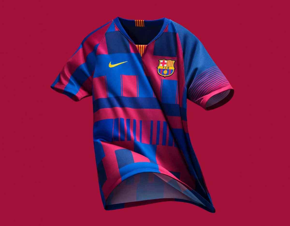 """Nike udgiver Limited-Edition FC Barcelona """"20 år"""" spillertrøje"""