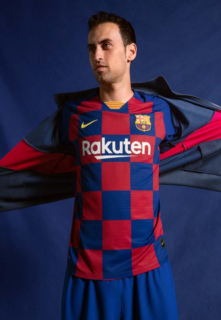 Nike Barcelona 2019/20 Hjemmebanetrøje 2