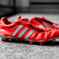 "adidas re-introducerer den klassiske Predator Mania ""Red/Metallic Silver"""