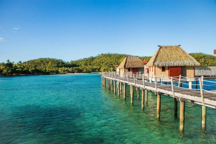 bungalow overwater
