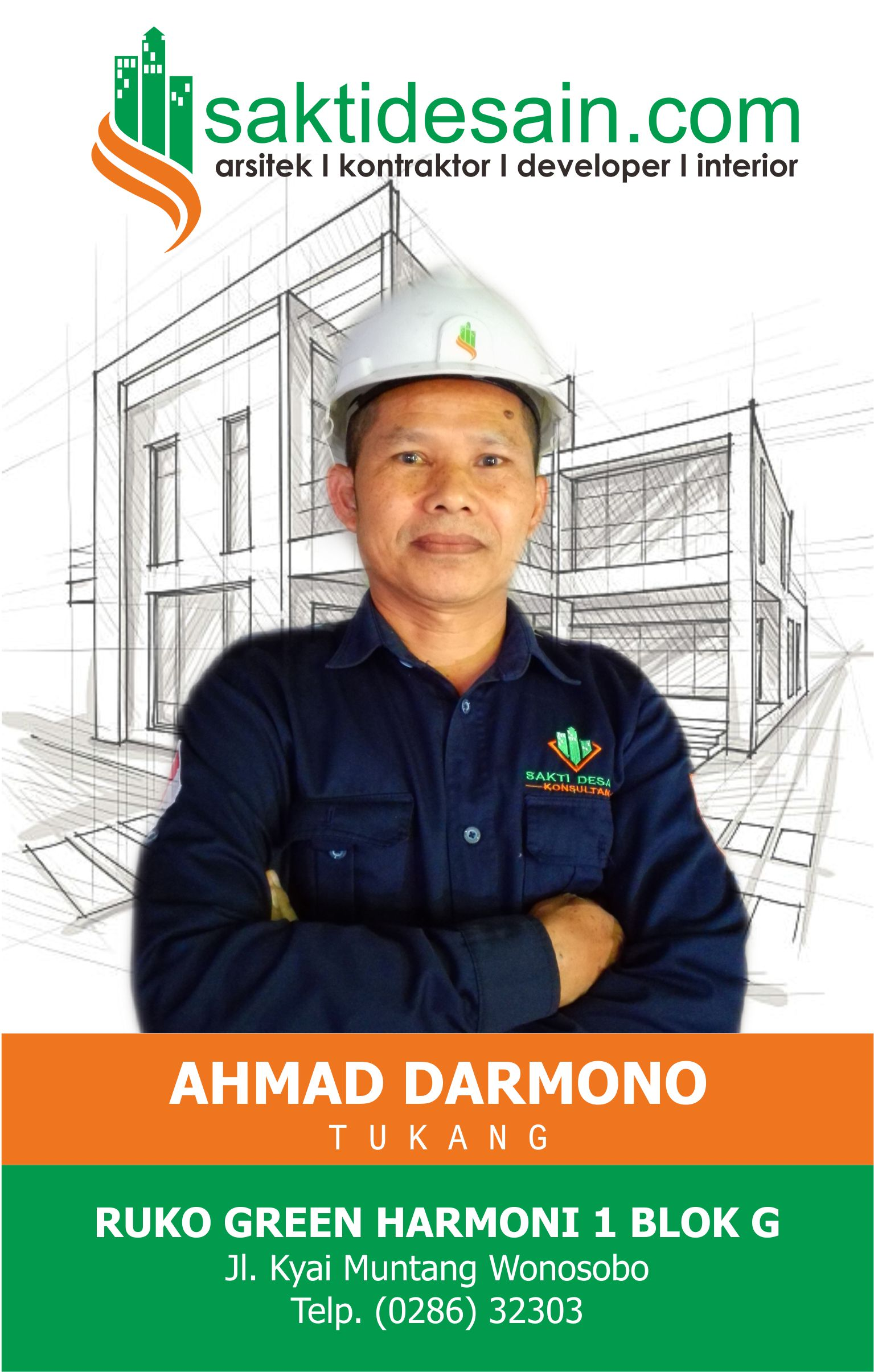 ahmad darmono, tukang(furniture)