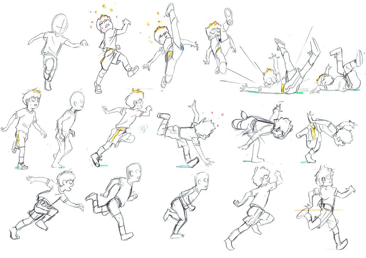 Poses Walking Cycle 7