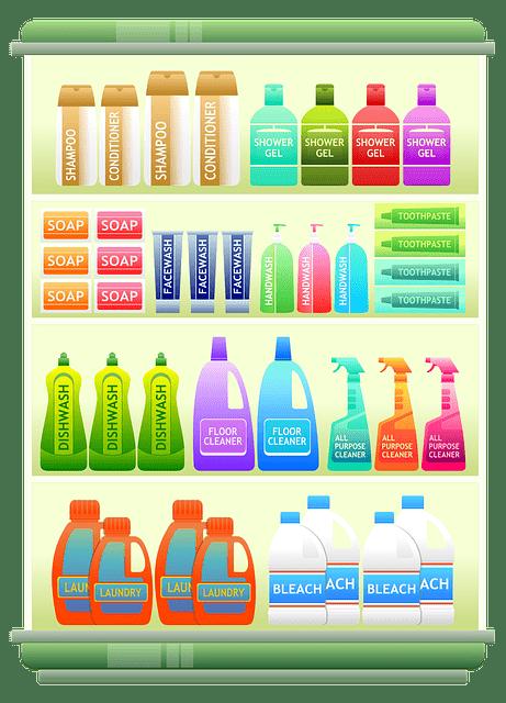 Supermarket Shelf Products Shampoo  - Viscious-Speed / Pixabay