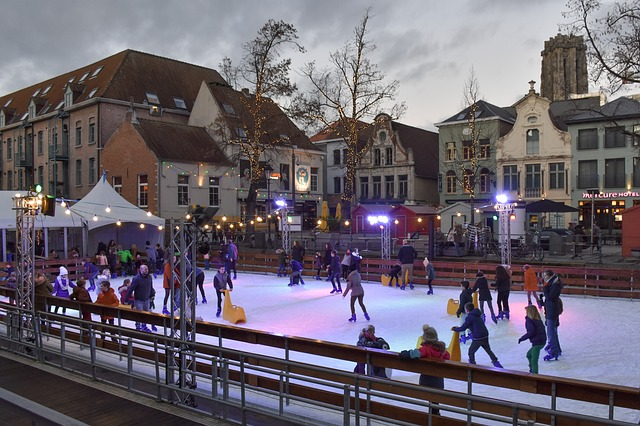 People Ice Skating Arena Ice Rink  - Ben_Kerckx / Pixabay