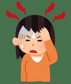 起床時の頭痛