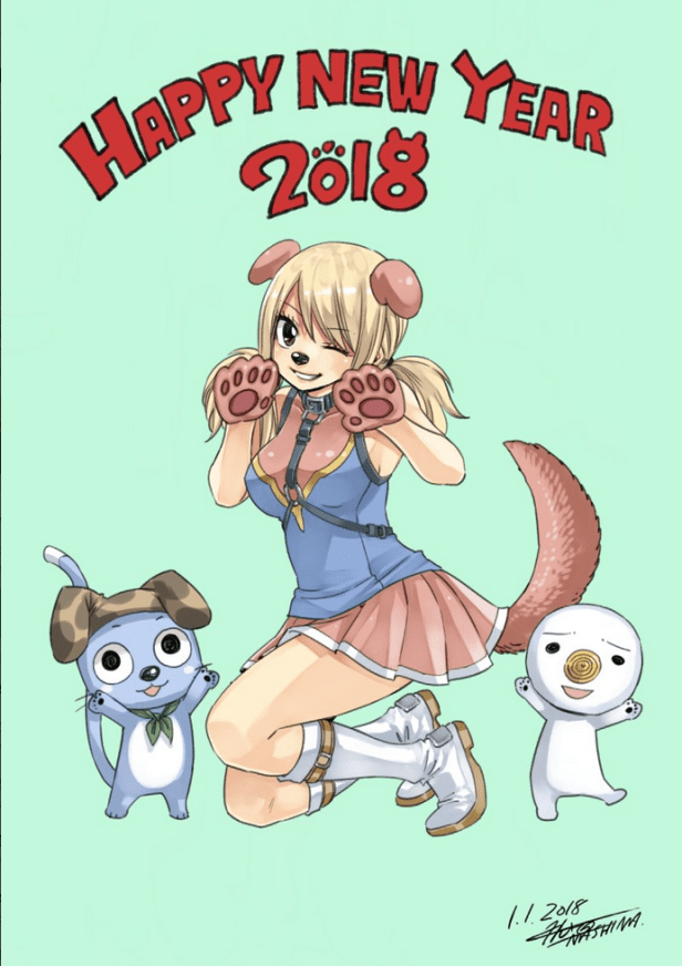 Fairy Tail New Year F Pic