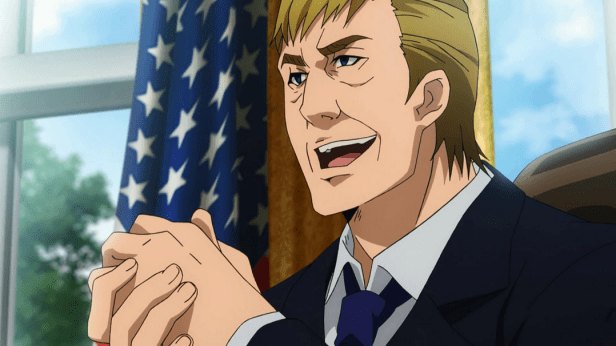 Anime Trump Podcast Pic Reproduction