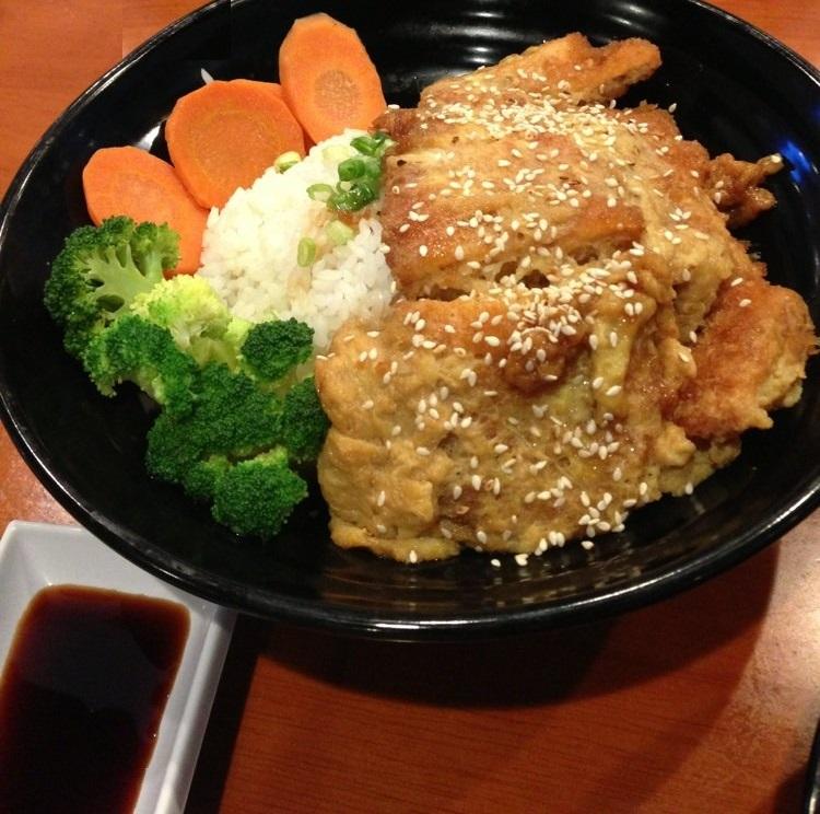 Chicken Katsu Don at Sakura