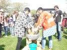 Pounding the rice to delicious mochitsuki