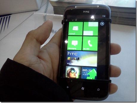 HTC's Windows Phone 7