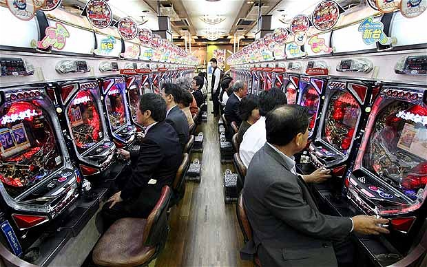 pachinko in japan