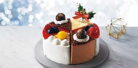セブンイレブンとシャトレーゼのコラボクリスマスケーキ2020