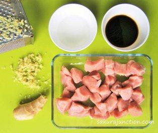 Ginger Pork Preparation 2