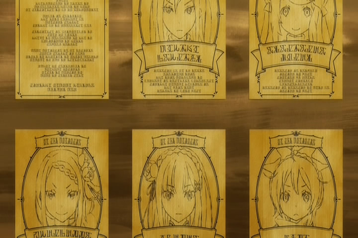 王選候補者の掲示板