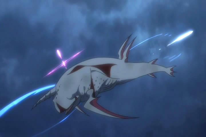 レムの魔法をよける 白鯨