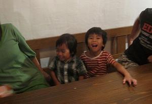 石垣島のカフェ&カレー「トラベラーズカフェ朔」の子供イメージ