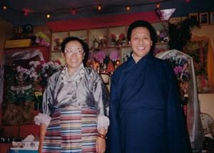 H E  Sakya Jetsun Chimey Luding Rinpoche - Sakya Kachod Choling