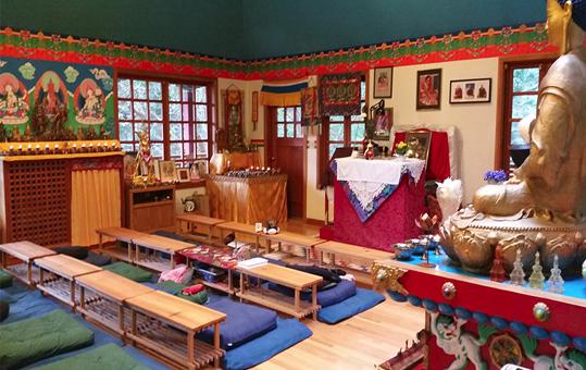 Sakya Chod Choling Shrineroom 2017