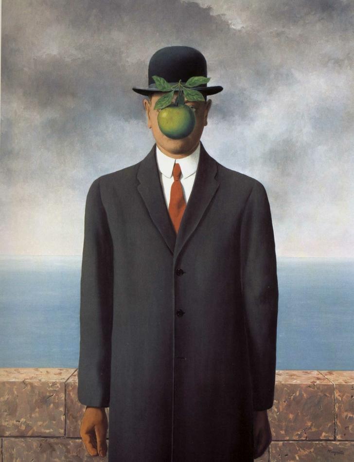 The Son of Man, obra de RENÉ MAGRITTE