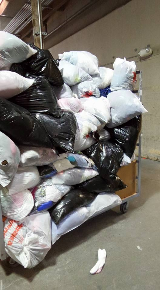 SCM Donations delivered to Value Village