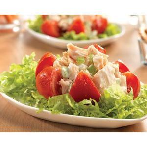 Heart Healthy Chicken Salad Stuffed Tomatoes