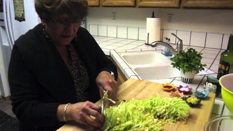 Lebanese/Armenian Vegan Cabbage Salad (Cole Slaw) Recipe