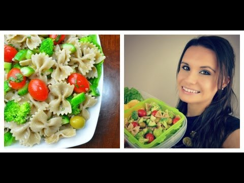 Pasta Salad with Fresh Vegetables | Quick & Healthy Lunch