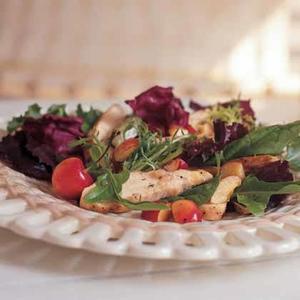 Grilled Chicken Salad With Cherries