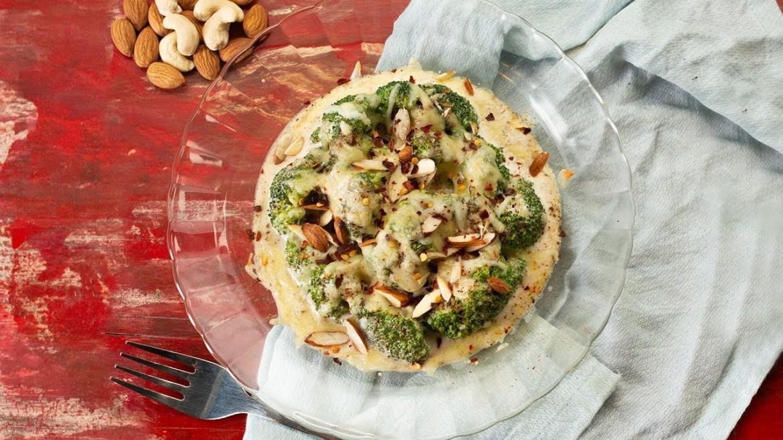 Baked Malai Broccoli Recipe | Easy Cream Salad Recipe | Happy 2019